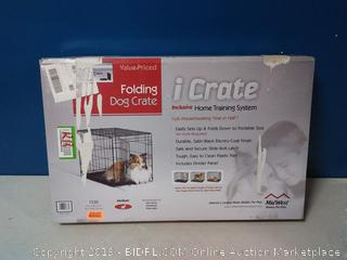 Midwest Pet® I-1530 - iCrate™ Black Single Door Dog Crate(Factory Sealed) COME PREVIEW!!!!!