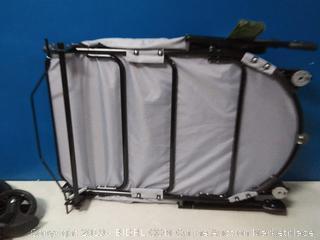 Pet Gear NO-Zip Stroller, Push Button Zipperless Dual Entry (dog not included) (Online $205)