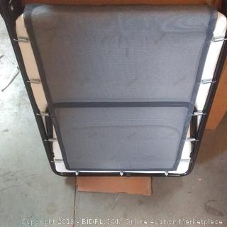 folding bed with airflow mattress