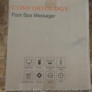 Comfort ology Foot Spa massager
