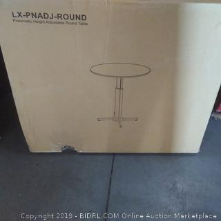 pneuMatic height adjustable Round Table