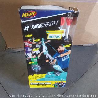 Nerf Sports Dude Perfect signature bow