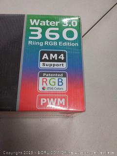 Thermaltake Water 3.0 Riing RGB 360 AIO Cooler - 360 mm( Factory sealed)