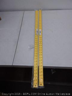 Lufkin yardstick pack of 2