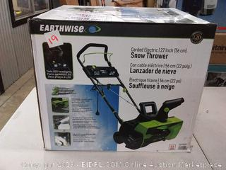 Earthwise corded electric 22 inch snow blower( Factory sealed)