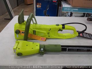 Sun Joe electric pole plus chainsaw 8in / 8 - amp