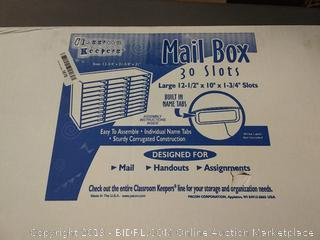 classroom Keepers mailbox 30 slots