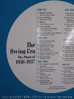 the swing era the music of 1936 and 1937 the movies between phone and video