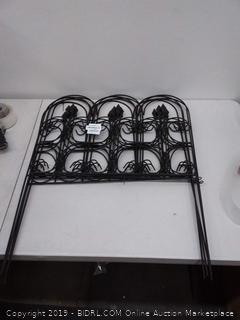 amagabeli decorative garden decor picot Edge black