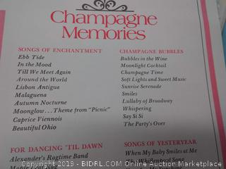 Lawrence Welk's champagne memories Symphony box set