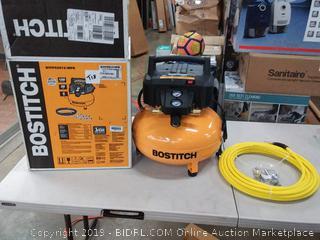 BOSTITCH Air Compressor Kit, Oil-Free, 6 Gallon, 150 PSI (BTFP02012-WPK)