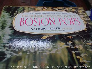 the golden treasury of the Boston Pops Symphony box set