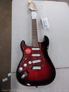 Squier by Fender standard beginner electric guitar color antique burst($249)