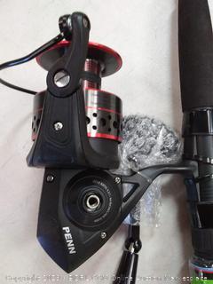PENN 1366255 Fierce II Spinning Combo 8000, 5.3:1 Gear