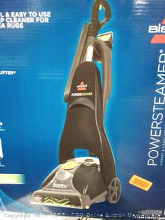 Bissell powersteamer powerbrush select carpet and upholstery cleaner