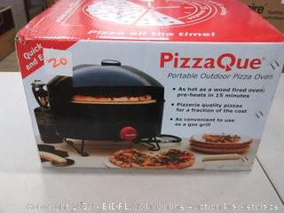 Pizza Q partible outdoor pizza oven