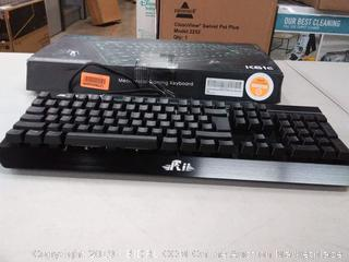 r i i k61 c mechanical gaming keyboard with macro keys