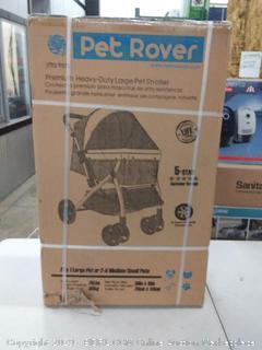 pet Rover premium heavy duty pet stroller XL black( Factory sealed)