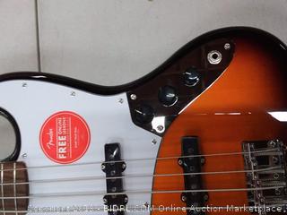 Fender Squier bass guitar
