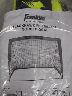 Franklin Sports Blackhawk Portable Soccer Goal - Pop-Up Soccer