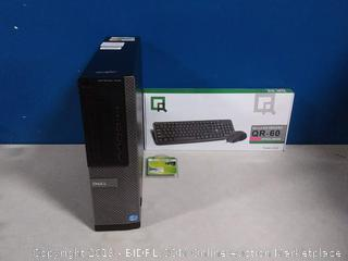 Dell Optiplex 7010 business desktop computer and keyboard (online $210) come preview!