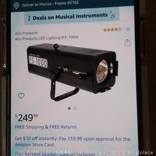 ADJ Products LED Lighting model FS-1000