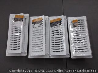 Imperial standard series pop-up register 4 in by 10 in 4 pack