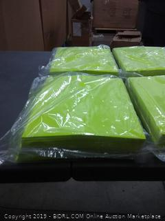 4×2 fluorescent yellow paper 1000 pages