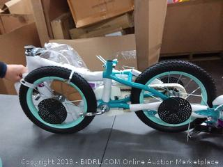 "Schwinn Elm Girl's Bike with SmartStart, 14"" Wheels, Teal"