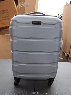 Samsonite 20 inch hard spinner suitcase