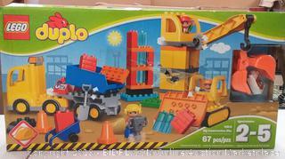 LEGO Duplo Big Construction Site - 10813 by LEGO®