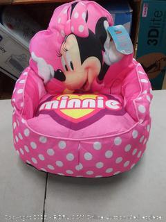 Disney Minnie Mouse Toddler Bean Bag Sofa Chair