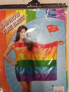 Women's Rainbow Flag Costume