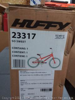 huffy so sweet girls bike