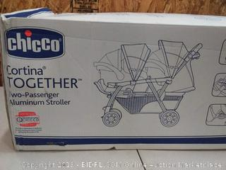 Chicco Cortina Together Double Infant Baby Toddler Folding Stroller