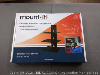 mount it floating wall shelf bracket an AV receiver component