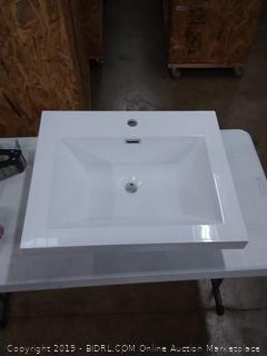 La bath vanity sink