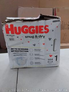 Huggies Snug & Dry Diapers - Size 1 (144ct)