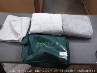 thirdreams weighted blanket 20 lb 60 by 80