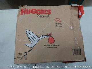 Huggies Special Delivery 132 diaper pack, 12-18lb
