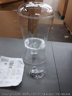 beverage dispenser clear