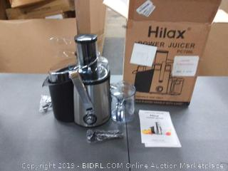 Hilax Power Juicer PC 700 l(Powers on)