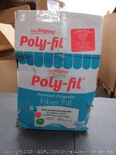 poly-fil premium polyester fiberfill 5 lb