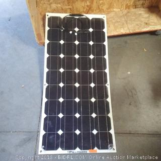 Paul powers solar strip