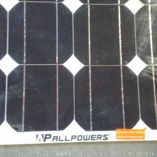 Paul powers solar strip