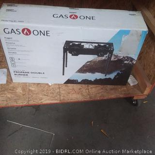 gas one propane double burner outdoor model B 5000