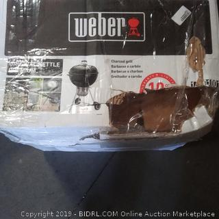 Weber grill charcoal original Kettle premium 22 in