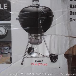 Weber grill charcoal original Kettle premium 22 in