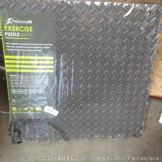 ProSource fit exercise mat 1 and 1/2 in