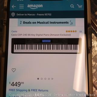 Casio CDP-240 88key Digital Piano